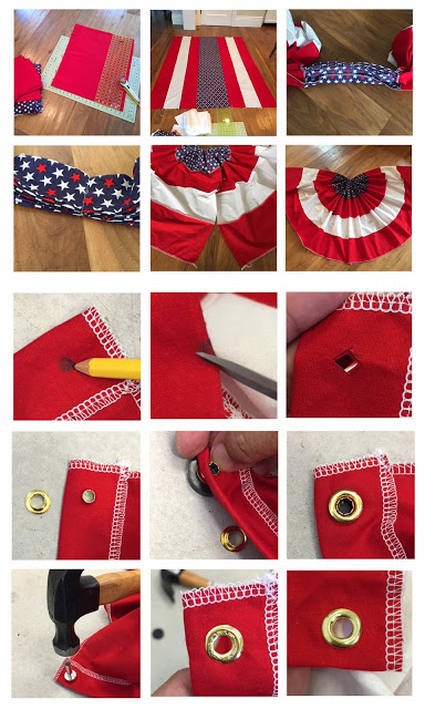 How to Make a Patriotic Bunting/Banner